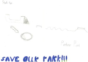 """Save our Park!!!"""