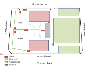 plan of the park snip